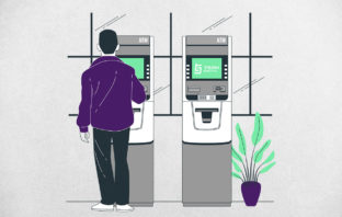 Green PIN ATM