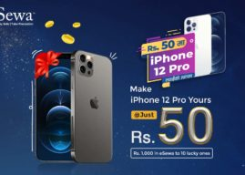 eSewa Brings New Offer; Get a Chance to Win iPhone 12 Pro at Just Rs 50