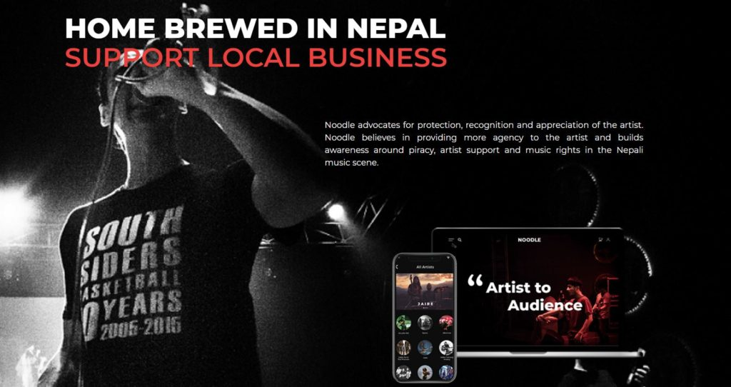 Noodle: Nepal-based music streaming portal