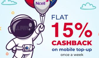 Cellpay 15 percent cashback