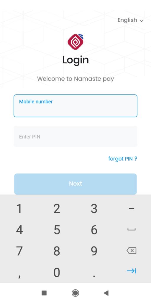 Namaste Pay Digital Wallet
